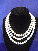 Strand of Graduated Freshwater Pearls