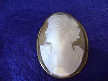 Victorian Cameo Broach/Pendant