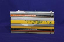 Set of Eleven Issues of The Yale Architectural Review: Perspecta.
