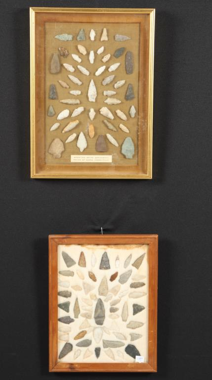 NATIVE AMERICAN INDIAN PROJECTILE POINTS