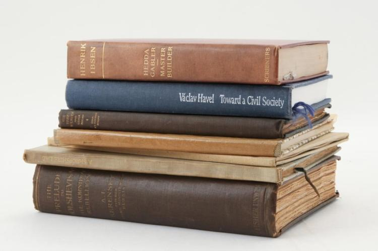 (7) CLASSIC HARDCOVER BOOKS (some signed)