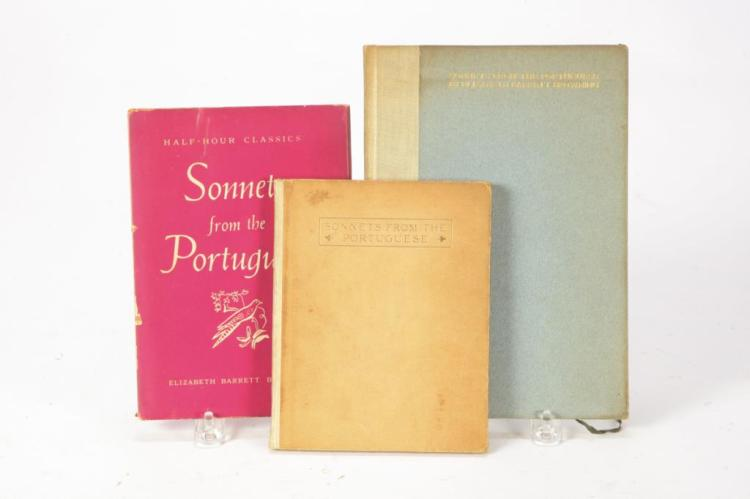 (3) SONNETS OF THE PORTUGUESE by BROWNING