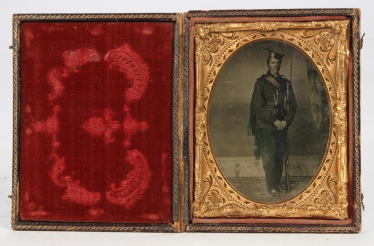 AMBROTYPE of RICHARD ROOME SCOTCH REGIMENT