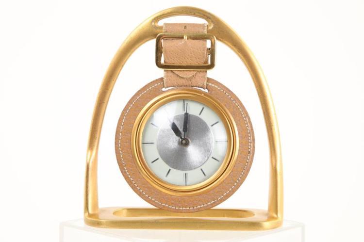 EQUESTIAN THEMED DESK CLOCK