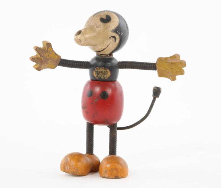 EARLY 1930'S MICKEY MOUSE FIGURE