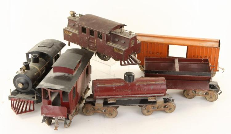 (2) LOCOMOTIVES and (4) CARS