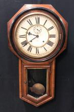 ANSONIA  REGULATOR WALL CLOCK