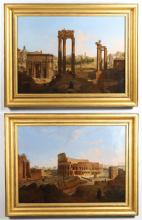 PAINTINGS, BRONZES and SCULPTURES