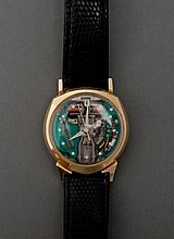 14k Gold 1961 Bulova Spaceview Watch