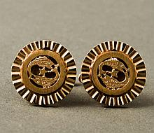 Milt Ebbins 14K Gold Cufflinks