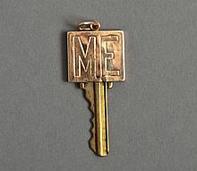 Judy Holiday 14k Gold Key Cover