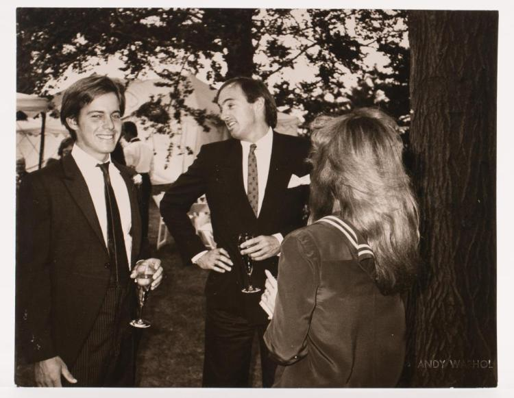 ANDY WARHOL (1928-1987)Jon Gould Warhol