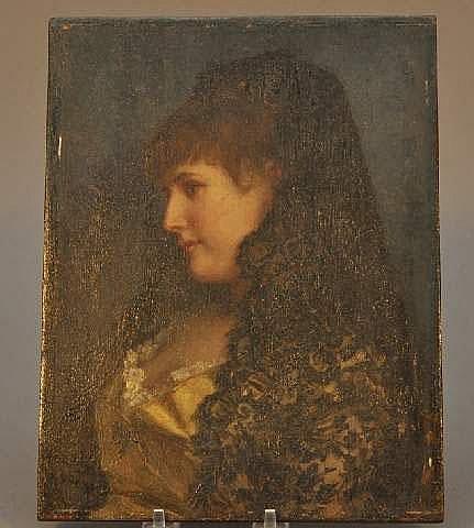 Joseph Scheurenberg, German (1846-1914) Beauty in