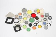 LARGE LOT OF CAMERA FILTERS