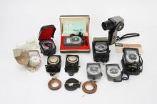 `LOT OF PHOTOGRAPHIC LIGHT METERS ETC.