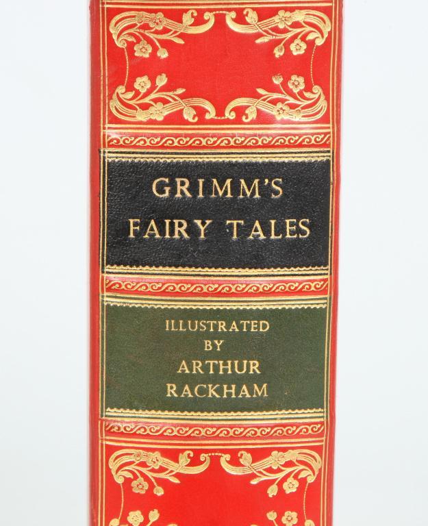 GRIMM'S FAIRY TALES FIRST EDITION ARTHUR RACKHAM
