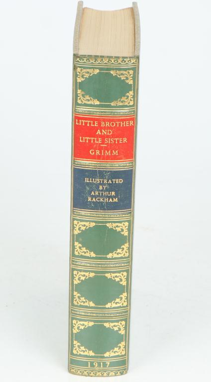 FIRST EDITION LITTLE BROTHER LITTLE SISTER RACKHAM