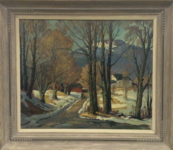 JACOB GREELEAF (1887-1968) Rockport Artist