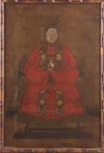 (18th c) ASIAN ANCESTRIAL PORTRAIT