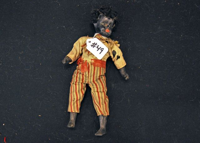 "10"" Black doll marked 110"