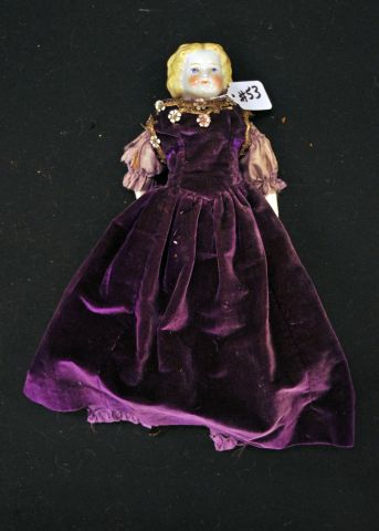 "13 1/2"" Blonde China head doll"