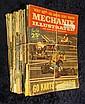 836. (10) 1956-1960 Mechanix Illustrated Magazines.