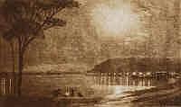 Henri van Raalte (1881-1929) Mt Eliza Aquatint