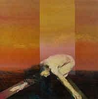 Charles Billich (b.1934) The Dancer Oil on canvas