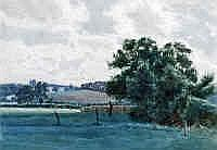James WR Linton (1869-1947) Pastoral Landscape and