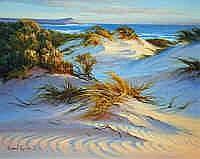 Robyn Collier (b.1949) Dusk Across Kalbarri Dunes