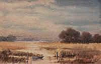 Leach Barker (1897-1967) Albany Inlet Watercolour