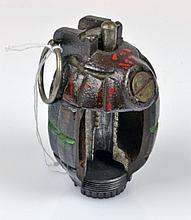 A WWII Mills Cutaway Hand Grenade