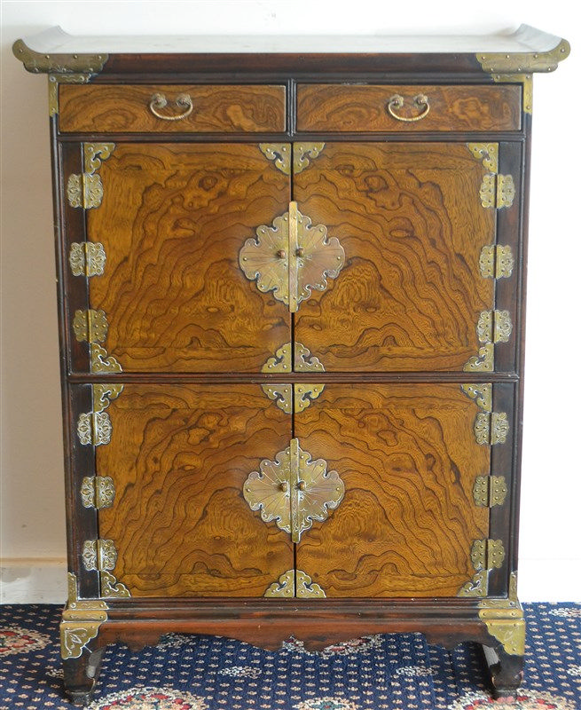 A Korean Two-Section Cabinet