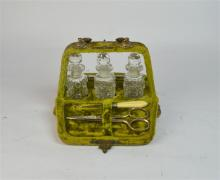 Two Victorian Jewellery Boxes and Ladies
