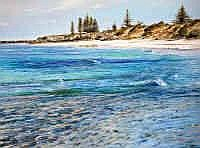 Larry Mitchell (b.1953) Cottesloe Oil on canvas