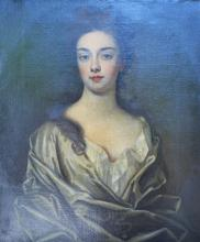 In the style of Godfrey Kneller 1646 - 1723