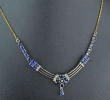 Sapphire Necklet