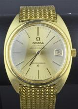 18ct Omega Constellation Gents Bracelet Watch