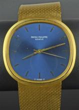 18ct Patek Philippe Golden Ellipse Gents Bracelet