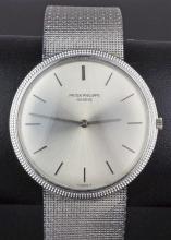 18ct Patek Philippe Calatrava Gents Bracelet Watch