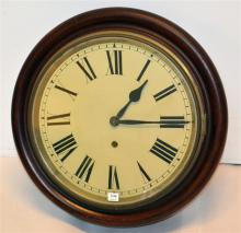A Mahogany Cased Wall Clock