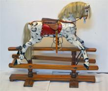 An Australian Made Rocking Horse