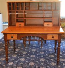 A West Australian Jarrah & Pine Clerks Desk