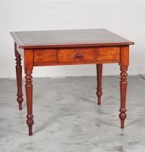 A Rare Pre-Gold Rush Jarrah Table Desk