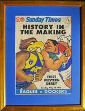 West Coast Eagles Football Club Memorabilia