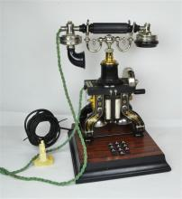An Ericcson Eiffel Tower Skeletal Telephone