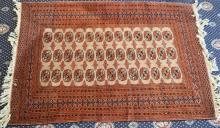 A Bokhara Design Rug