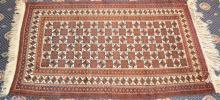 A Northern Afghan Wool Rug