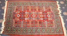 An Afghan Style Wool Floor Rug