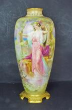A Royal Doulton Vase Decorated by George White